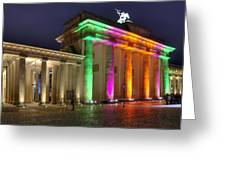 Brandenburger Tor Greeting Card by Steffen Gierok