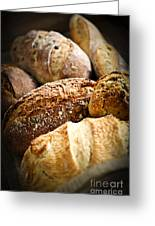 Bread Loaves Greeting Card by Elena Elisseeva