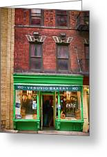 Bread Store New York City Greeting Card by Garry Gay