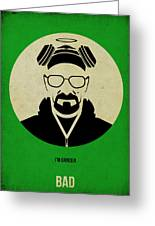 Breaking Bad Poster 1 Greeting Card by Naxart Studio