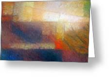 Breaking Light Greeting Card by Lutz Baar