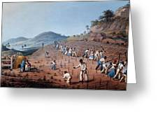Breaking Up The Land, From Ten Views Greeting Card by William Clark