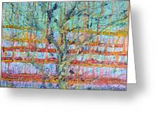 Breathe - Tree Of Life 4 Greeting Card by Regina Valluzzi