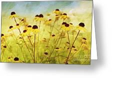 Breeze Greeting Card by Elaine Manley
