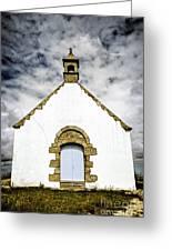 Breton Church Greeting Card by Elena Elisseeva