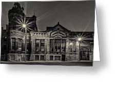 Brewhouse 1880 Greeting Card by CJ Schmit