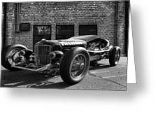 Brickyard Buick Greeting Card by Peter Chilelli