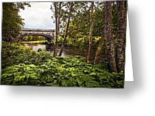 Bridge At Iveraray Castle Greeting Card by Marcia Colelli
