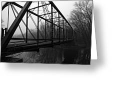 Bridge Greeting Card by Off The Beaten Path Photography - Andrew Alexander