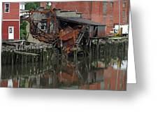 Bridgeport 3 Greeting Card by Steve Breslow
