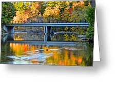 Bridges Of Madison County Greeting Card by Frozen in Time Fine Art Photography