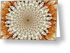 Bright Flower Greeting Card by Anastasiya Malakhova