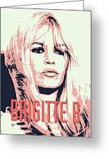 Brigitte B Greeting Card by Chungkong Art
