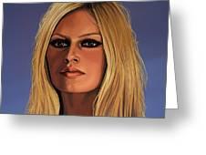 Brigitte Bardot Greeting Card by Paul  Meijering