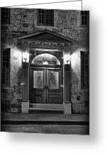 British - Jack The Ripper's Doorway II Greeting Card by Lee Dos Santos