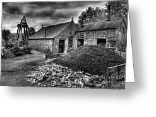 British Mine Greeting Card by Adrian Evans