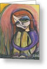Broken Spirit Greeting Card by Tanielle Childers