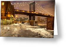 Brooklyn Greeting Card by Denis Tangney Jr