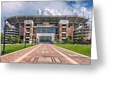 Bryant Denny Stadium Greeting Card by Ben Shields
