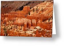 Bryce Canyon Landscape Greeting Card by Jane Rix