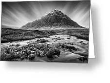 Buachaille Etive Mor 3 Greeting Card by Dave Bowman