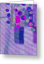 Bubble Tree - S85lc03 Greeting Card by Variance Collections