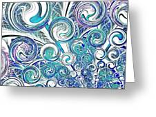 Bubbles Greeting Card by Anastasiya Malakhova
