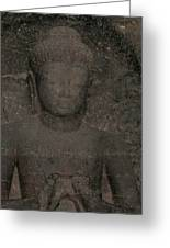 Buddha II Greeting Card by Russell Smidt