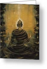Buddha. Nirvana Ocean Greeting Card by Vrindavan Das