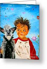 Buddies Greeting Card by Phyllis Kaltenbach