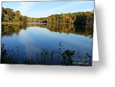 Buddy Attick Lake Park Greeting Card by Emmy Marie Vickers