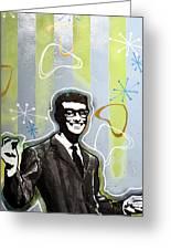 Buddy Holly Greeting Card by dreXeL