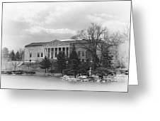 Buffalo History Museum 2 Greeting Card by Peter Chilelli