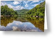 Buffalo National River Greeting Card by Bill Tiepelman