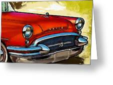 Buick Automobile Greeting Card by Robert Smith