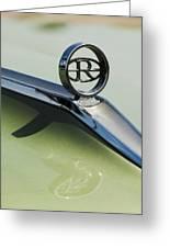 Buick Riviera Hood Ornament Greeting Card by Jill Reger