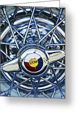 Buick Skylark Wheel Greeting Card by Jill Reger