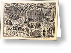 Bulgarian Folk Tales Greeting Card by Milen Litchkov