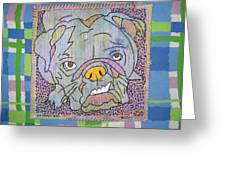 Bully Greeting Card by Susan Sorrell