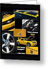 Bumble Bee-drive - Poster Greeting Card by Gary Gingrich Galleries