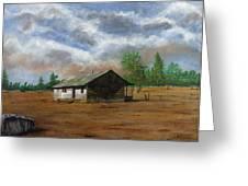 Bunk House Cheyenne Wy Greeting Card by Stuart B Yaeger