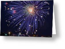 Burst of Blue Greeting Card by Bill Pevlor