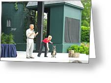Busch Gardens - Animal Show - 121215 Greeting Card by DC Photographer