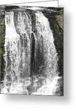 Bushkill Waterfalls Greeting Card by John Telfer