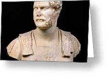 Bust of Emperor Hadrian Greeting Card by Anonymous