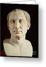 Bust Of Julius Caesar Greeting Card by Anonymous