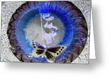 Butterfly Greeting Card by Dietrich ralph  Katz