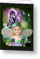 Butterfly Fairy Greeting Card by Ellen Henneke