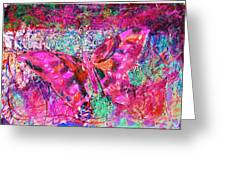 Butterfly Incognito Greeting Card by Anne-Elizabeth Whiteway