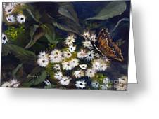 Butterfly Kisses Greeting Card by Sharon Burger